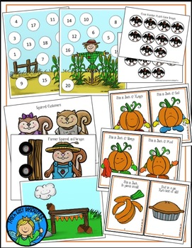 Fall Back to School Number and Literacy Activities for Pre-K to K