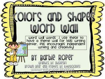 Fall Back to School Word Wall Bundle