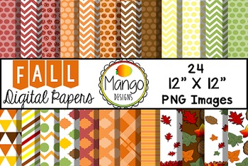 Fall Digital Papers