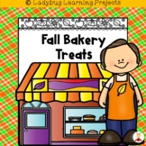 Fall Bakery Treats {Ladybug Learning Projects Bundle}