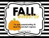 Fall Banner Activities