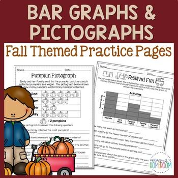 Fall Bar Graphs & Pictographs - 3rd Grade