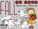Fall Barrier Games {NO PREP}