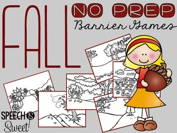 Fall Barrier Games {NO PREP}