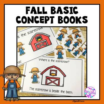 Fall Basic Concept mini books (Fall, Halloween and Thanksgiving)