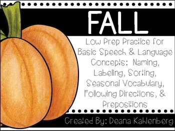 Fall {Basic Concepts}