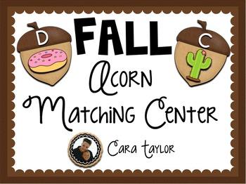 Fall Beginning Sounds Center