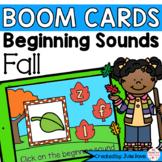 Fall Beginning Sounds   Digital Game Boom Cards