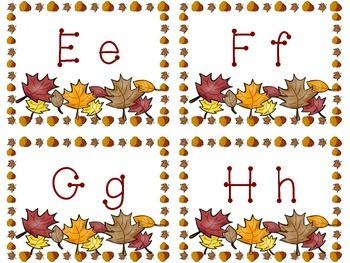 Fall Beginning Sounds E-H Literacy Center