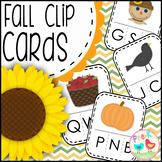 Fall Beginning Sounds Game