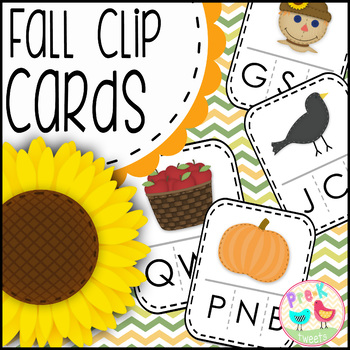 Fall Beginning Sounds Game