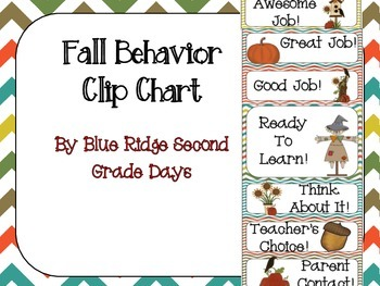 Fall Behavior Chart