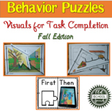 Fall Behavior Puzzles: Visuals for Task Completion