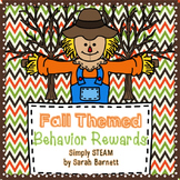 Classroom Management: Behavior Reward Coupons {Fall}