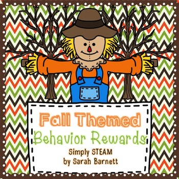 Classroom Management: Behavior Reward Coupons {Fall}
