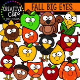 Fall Big-Eye Favorites: Autumn Clipart {Creative Clips Clipart}