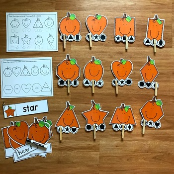 "Fall ""Biggie"" Shapes Centers"