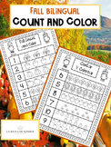 Fall Bilingual Count and Color 1-10
