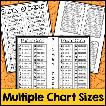 Fall Binary Code STEM Activities