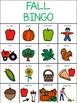 Fall Bingo - Boardmaker Bingo