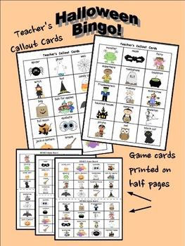 Fall Bingo Bundle! {Back-To-School, Halloween, Thanksgiving}
