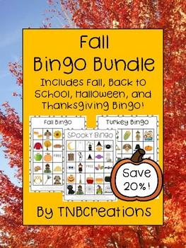 Fall Bingo Bundle