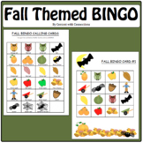 Fall Bingo Cards-Printable! For Fall Fest or Class Party! (And indoor recess)