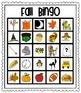 Fall Bingo For Kids