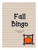 Fall Bingo {Fun fall game!}