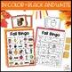 Fall Bingo Game