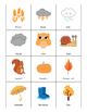 Fall Bingo Game - Autumn Bingo