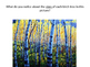 Fall Birch Tree Watercolor Art