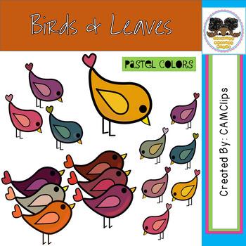 Fall Birds & Leaves
