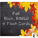 Fall Book, BINGO & Flash Cards BUNDLE