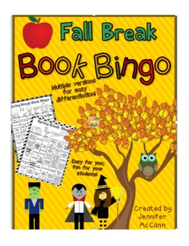 Fall Book Bingo