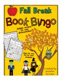 Fall Book Bingo