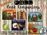 Fall Book Companions BUNDLE