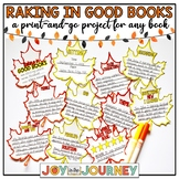 Fall Book Report for ANY Book: Raking in Good Books