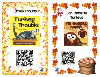 Fall Book Read Aloud QR Codes