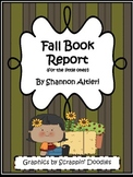 Fall Book Report: A report for the little ones!