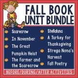 Fall Book Unit Bundle in Digital and PDF formats