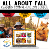 Fall Boom Card Bundle|First and Second Grade|Distance Learning