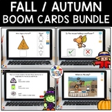 Fall Boom Cards Bundle | Distance Learning