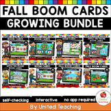 Fall Boom Cards Growing Bundle (Distance Learning)