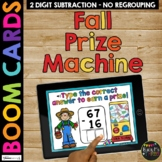 Fall Boom Cards™ Two Digit Subtraction Algorithms with No Regrouping