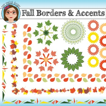 Fall Borders & Accents ~ FREEBIE!!!