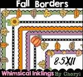 Fall Borders Clipart Collection