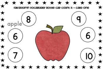 Fall Vocabulary Games