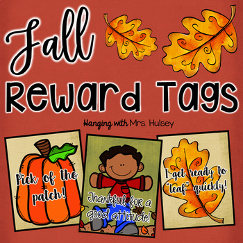 Fall Reward Tags