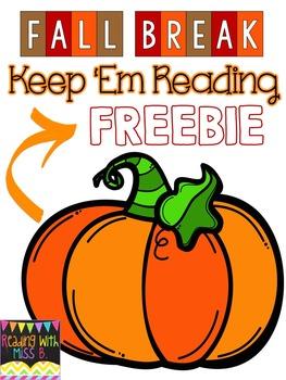 Fall Break FREEBIE!